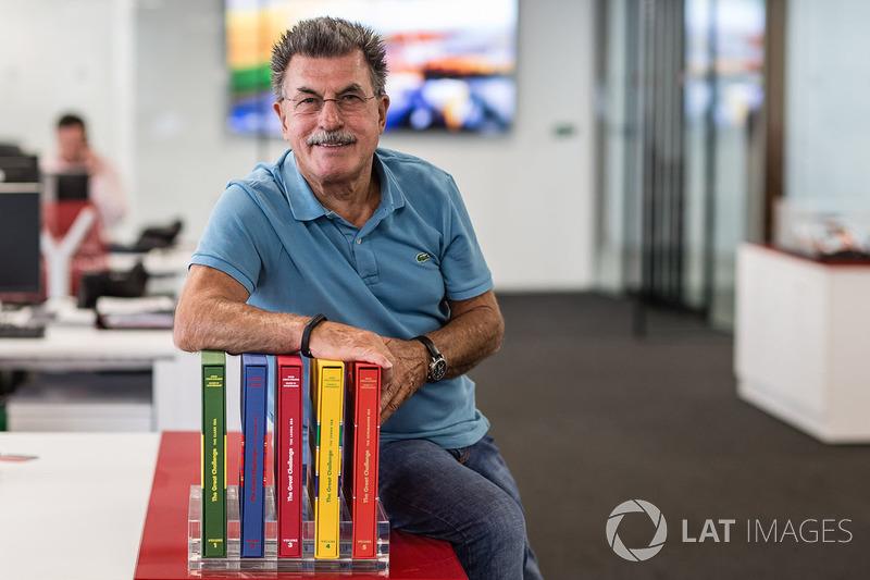 Райнер В. Шлегельмільш в офісі Motorsport Network