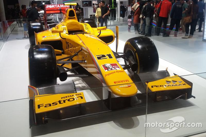 Dallara GP2/11 Sean Gelael