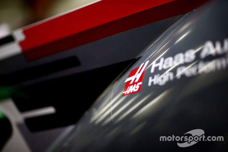 Bodywork on the Haas F1 Team VF-17