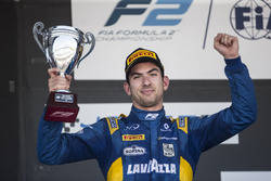 Podium: Nicholas Latifi, DAMS on the podium