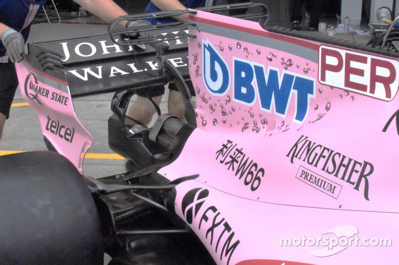 Sahara Force India VJM10 monkey seat