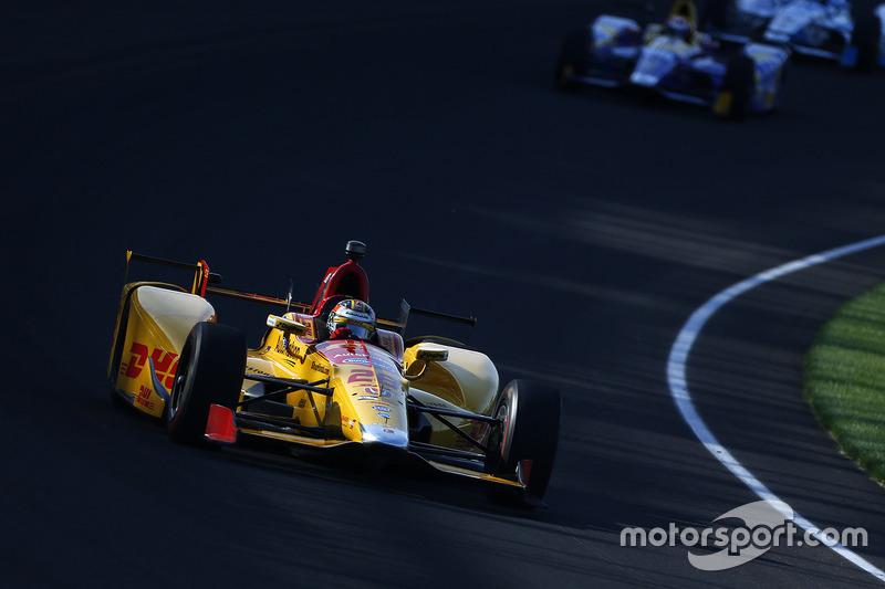 #28 Ryan Hunter-Reay, DHL / Honda