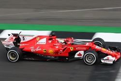 Sebastian Vettel, Ferrari SF70H shield ile