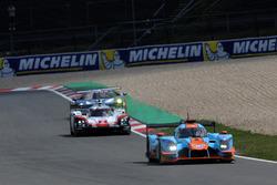 #34 Tockwith Motorsports Ligier JS P217 Gibson: Nigel Moore, Philip Hanson, #2 Porsche Team Porsche 919 Hybrid: Timo Bernhard, Earl Bamber, Brendon Hartley, #67 Ford Chip Ganassi Racing Ford GT: Andy Priaulx, Harry Tincknell