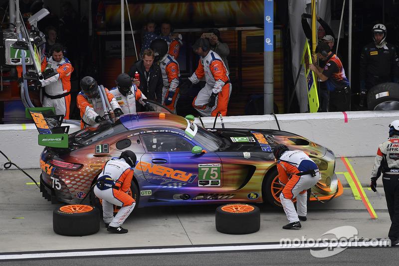 #75 SunEnergy1 Racing, Mercedes AMG GT3: Boris Said, Tristan Vautier, Kenny Habul, Maro Engel