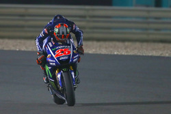 Maverick Viñales, Yamaha Factory Racing issing his Yamaha