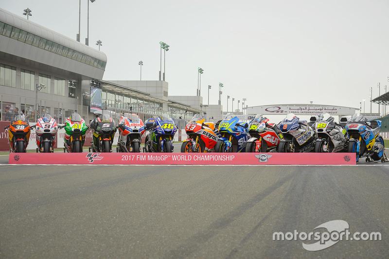 Всі мотоцикли MotoGP 2017 року