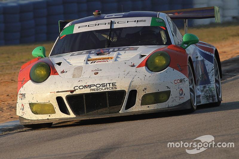 #54 CORE Autosport, Porsche 911 GT3R: Jon Bennett, Colin Braun, Nic Jönsson