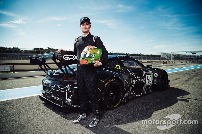 Annonce Louis Deletraz GPX Racing