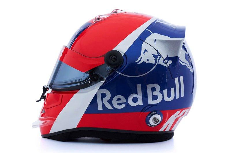 El casco de Daniil Kvyat, Scuderia Toro Rosso