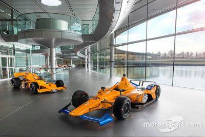 McLaren Racing festés