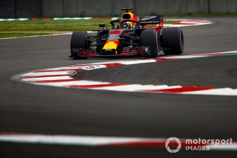 Mexique - Daniel Ricciardo, Red Bull