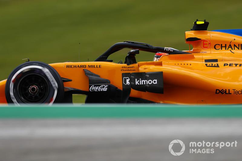 20: Stoffel Vandoorne, McLaren MCL33, 1'09.601