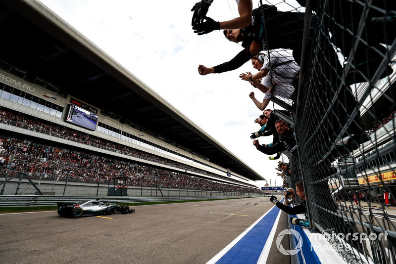 GP de Rusia: Lewis Hamilton