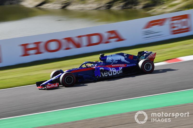 13e : Brendon Hartley (Toro Rosso)
