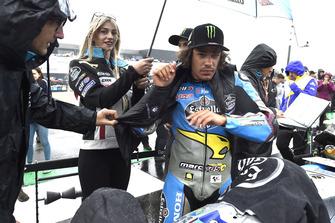 MOTO GP GRAND PRIX D'ITALIE DE MISANO 2018 Franco-morbidelli-estrella-gal