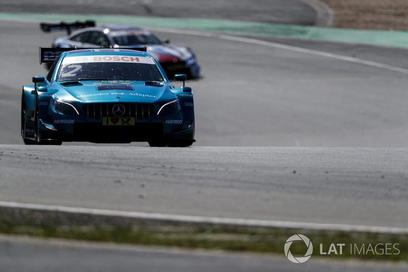 2. Gary Paffett, Mercedes-AMG Team HWA, Mercedes-AMG C63 DTM