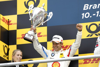 Podium: second place Augusto Farfus, BMW Team RMG