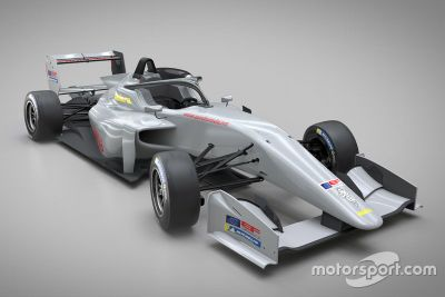 Euroformula Open car unveil