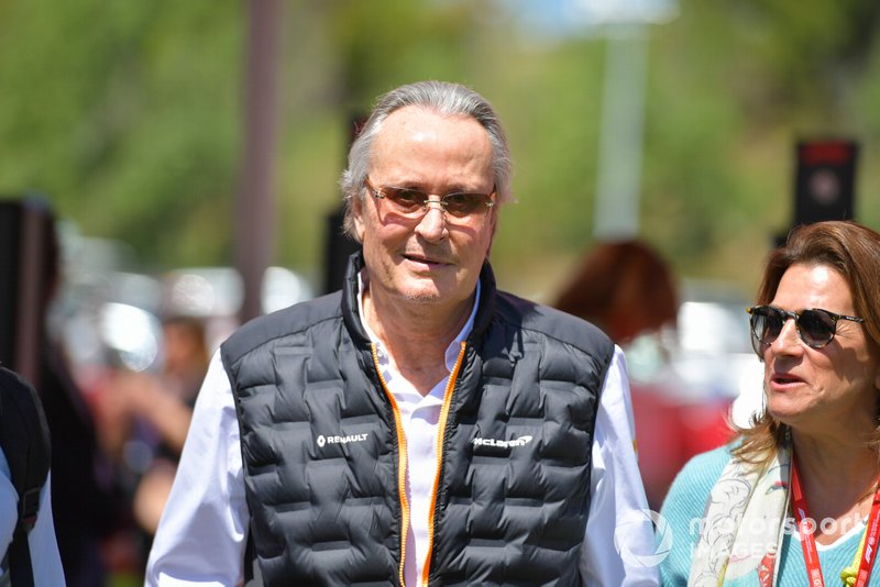 Mansour Ojjeh, co-owner, McLaren