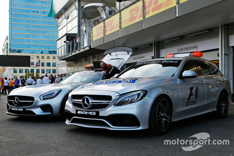 FIA Safety Car y auto médico de la FIA