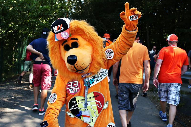 Fans of Max Verstappen, Red Bull Racing