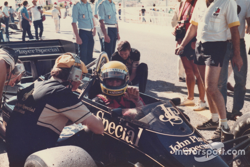 Ayrton Senna, Lotus 97T-Renault