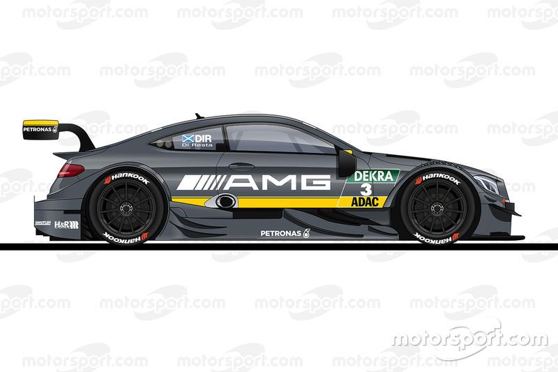 #3: Paul Di Resta, HWA-Mercedes