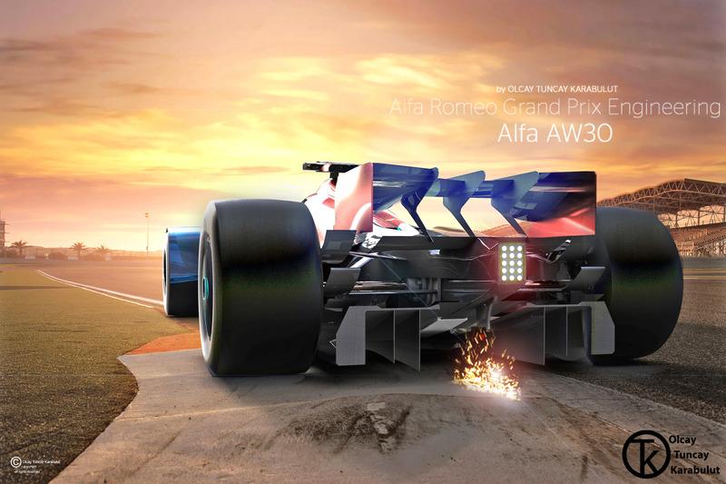 Onafhankelijk Formule 1-ontwerp: Alfa Romeo (2015)