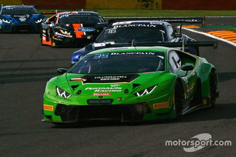 #63 GRT Grasser Racing Team Lamborghini Huracan GT3: Diego Alessi, Nicolas Pohler, Anders Fjordbach, Dennis Andersen