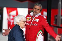 Берни Экклстоун и Маурицио Арривабене, руководитель Ferrari
