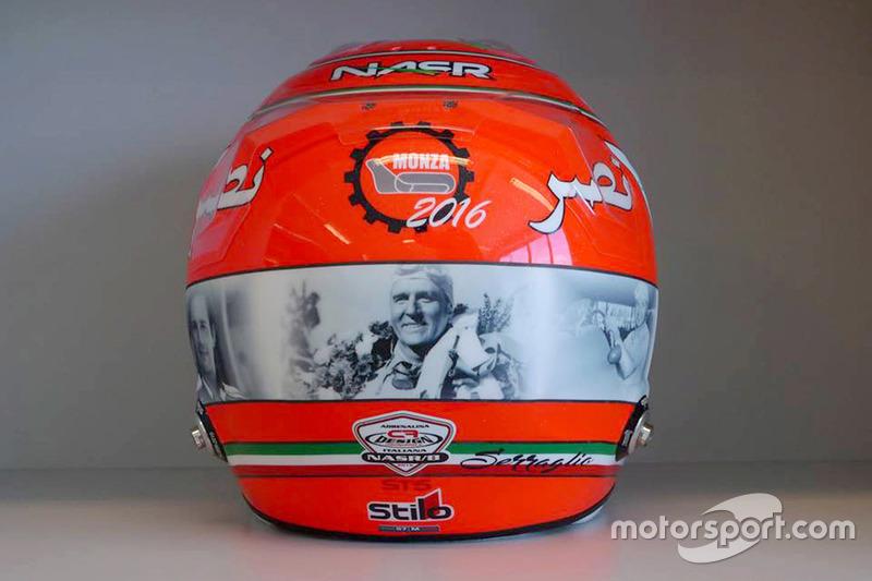 Helmet of Felipe Nasr, Sauber