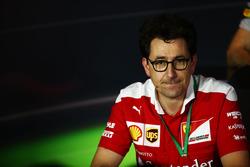 ماتيا بينوتو، مُدير هندسة السباق بفريق فيراري