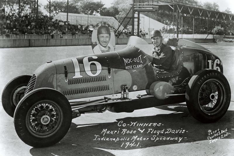 1941 - Floyd Davis e Mauri Rose
