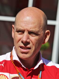 Джок Кліер, головний інженер Ferrari