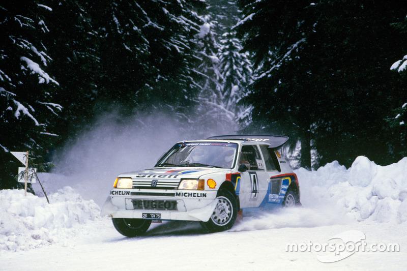 Juha Kankkunen, Juha Piironen, Peugeot 205 T16 E2