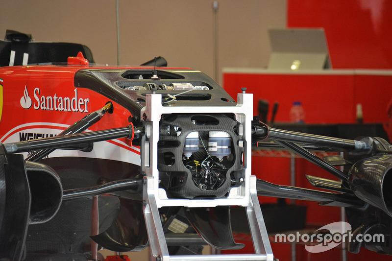 Frontaufhängung, Ferrari SF16-H