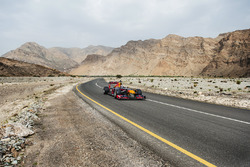 David Coulthard, Red Bull Racing beim Show-Run in Oman