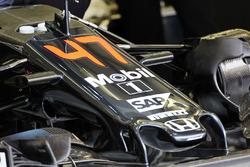 Машина McLaren MP4-31 для Стоффеля Вандорна, McLaren