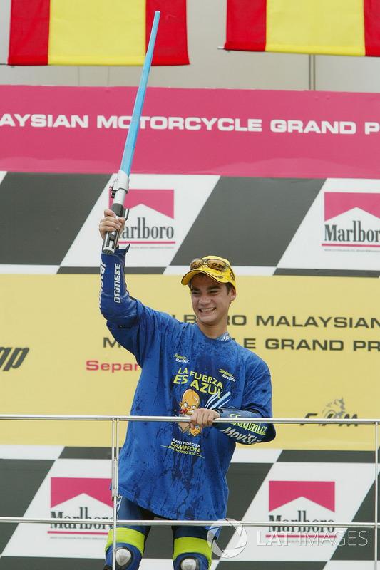 2003: Гран Прі Малайзії, чемпіон світу у класі 125 куб.см