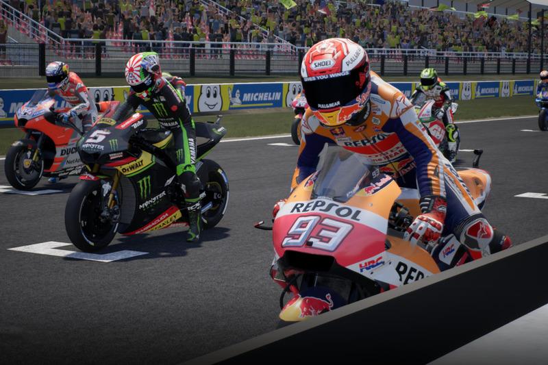 MotoGP 18 (ПК, PS4, Xbox One)