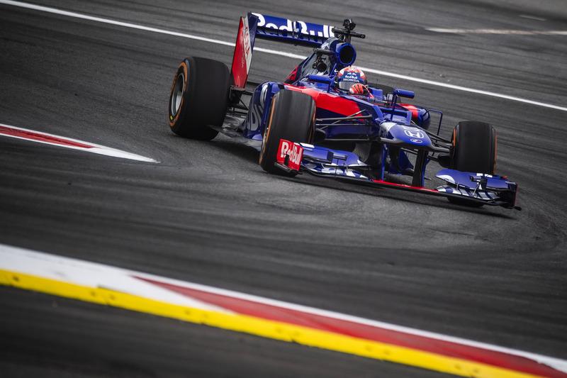 Marc Marquez mengetes mobil F1 di Red Bull Ring