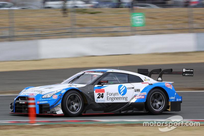 #24 Kondo Racing Nissan GT-R GT500: Mitsunori Takaboshi, Joao Paulo de Oliveira