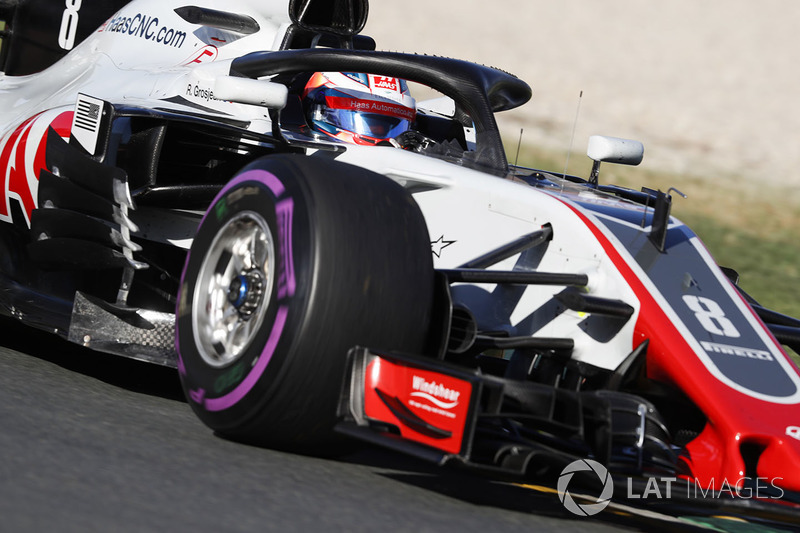 6. Ромен Грожан, Haas F1 Team VF-18