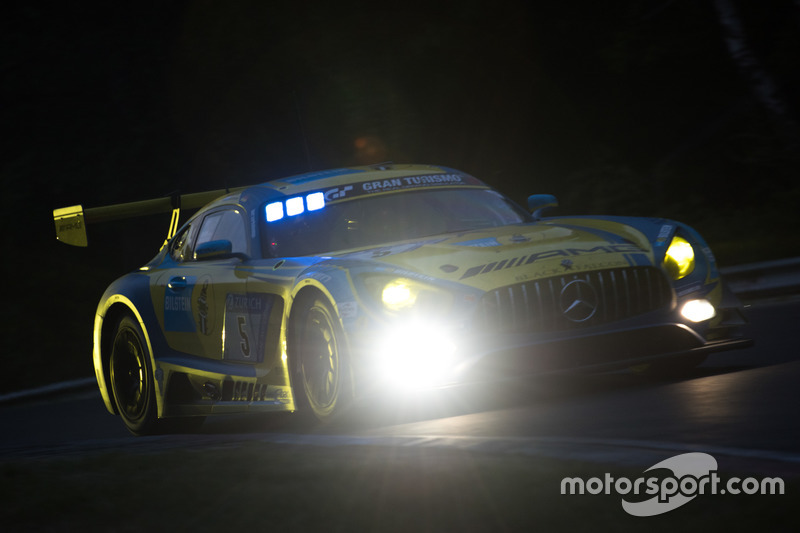 Йелмен Бурман, Томас Ягер, Ян Сейффарт, Лука Штольц, Mercedes-AMG Team Black Falcon, Mercedes-AMG GT3 (№5)