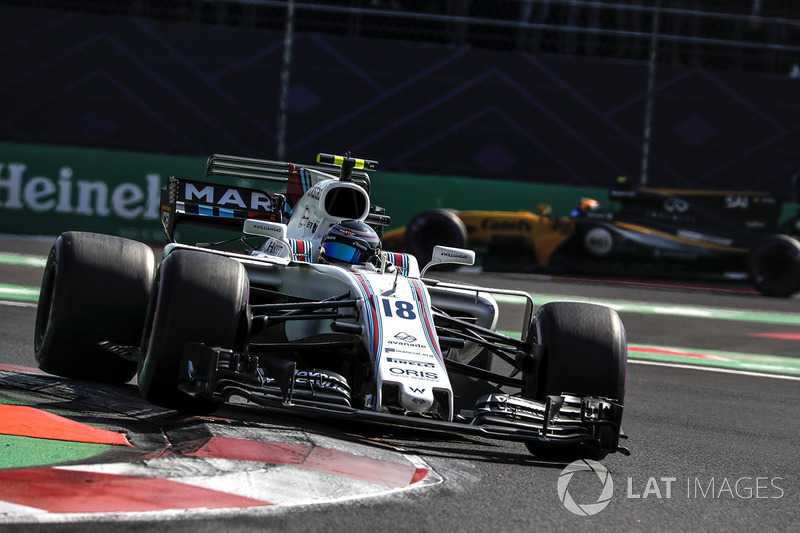 6. Lance Stroll, Williams FW40