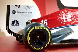 Презентація лівреї Alfa Romeo Sauber