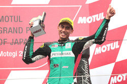 Третье место, Хафиз Сьяхрин, Petronas Raceline Malaysia