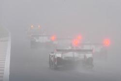 Safety car with fog