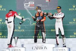 Callum Ilott, ART Grand Prix Dorian Boccolacci, MP Motorsport and Anthoine Hubert, ART Grand Prix
